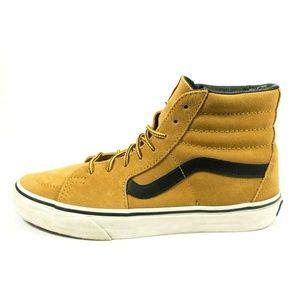 Vans Sk8 Hi Wheat Suede Lace Up Skate Shoes
